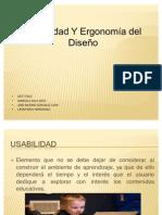 Usabilidad y ergonomia del diseño