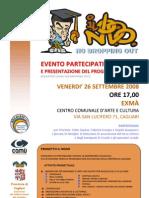 Locandina Evento Partecipativo e Presentazione Progetto ILNODO