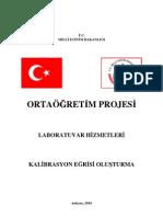 KALIBRASYON EGRİSİ OLUSTURM