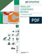CA CHEUVREUX German Smaller Companies Review Jan2011