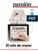 Suplement especial de 204 pàgines amb motiu de 25 Aniversari del diari EXPANSIÓ, amb totes les receptes per sortir de la recessió i reactivar l'economia.