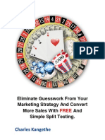 Eliminate Guesswork From Your Markting Strategy And Convert More Sales
