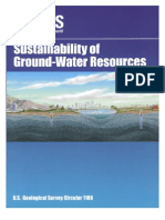 Sustainability of Ground-Water Resources