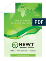 Payroll Product Brochure