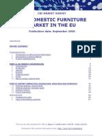 2006 Domestic Furniture in the EU