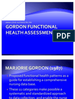 Gordon Functional Health Assessment