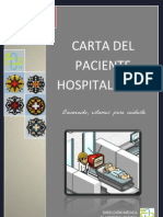 Carta de Paciente Hospitalizado