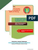 Panduan Konferensi PGRI Cabang Pemenang Tahun 2011