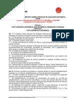 Regulamento do Imposto sobre Serviços de qualquer natureza - ISSQN
