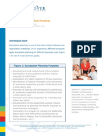 PDF Succession Planning Best Practices