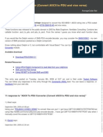 Ascii to Pdu Converter Convert Ascii to Pdu and Vice Versa