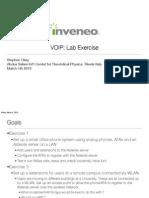Ictp Voip Lab 2010