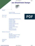 Catia Aerospace Sheet Metal Design
