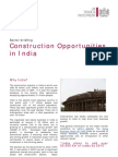 Construction Sector in India[1]