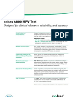 Cobas 4800 for HPV detection and genotyping