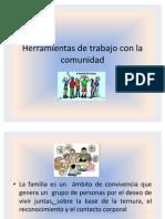 Herramientas de Trabajo Con La Comunidad