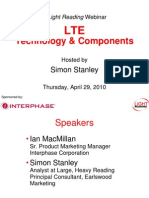 LTE Technology and Components 2010 LRWebinar
