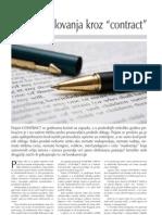 Razvoj Poslovanja Kroz Contract