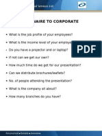Question a Ire to Corporate
