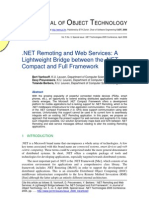 NET Remoting and Web Services. a Lightweight Bridge Between the .NET Compact and Full Framework
