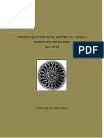 FONTES PARA O ESTUDO DA HISTÓRIA DA ARTE NO DISTRITO DE PORTALEGRE - CONCELHO DE FRONTEIRA