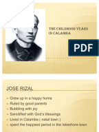 rizal life works and writings chapter 5 summary