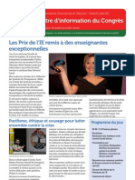 Congress Newsletter FRENCH 26 July