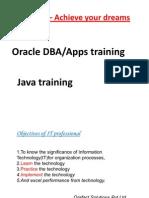 Oracle DBA Training