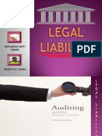 Presentation Audit - Legal Liability