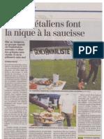 Tribune de Genève - 25 Juil. 2011