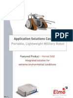 Military Robot Application