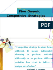 CH- 2 Five Generic Strategy