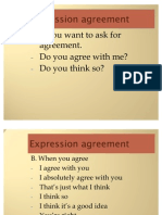 Dialog Agreement And Disagreement