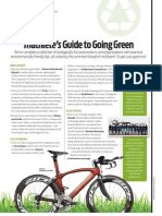 Triathlete's Guide to Going Green