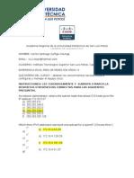 Examen de diagnóstico CCNA I ACADEMIAS LOCALES