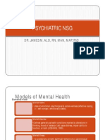 Comprehensive Psychiatric NSG Lecture