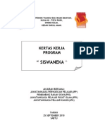 Kertas Kerja Program Siswaneka
