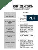Reforma Reglamento de Régimen Tributario Interno (RO 498, 25-jul-2011)