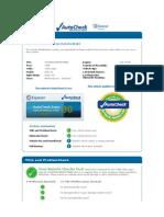 Auto Check Report