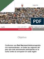 """Desayuno Resultados Proyecto """"Red Nacional Anticorrupción"""""""