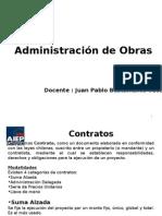 Administración de Obras 2011