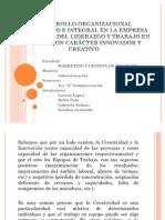 Desarrollo Organizacional Sistematico e Integral en La Empresa