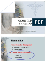 Good Clinical Governance