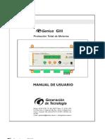 Manual de Usuario  Supervisor Trifasico Integral GENTECA GIII+