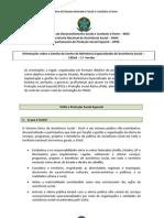 Orientações sobre a Gestão do Centro de Referência Especializado de Assistência Social – CREAS