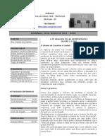 Boletim IPJE - 24/07/2011