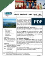 SilkAir Holidays 4D3N Meda Lake Toba Package