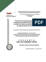 ÁREA Y VOLUMEN JUSTIFICACIÓN DE FÓRMULAS, JLTT