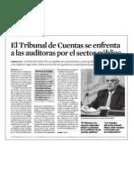 El Tribunal de Cuentas se enfrenta a las auditoras por el sector público