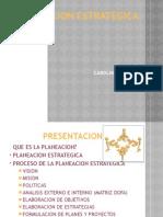 Presentacion PLANEACION ESTRATEGICA